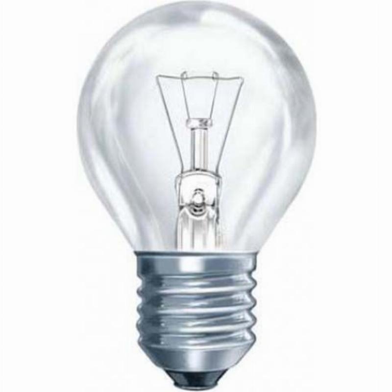 Лампа накаливания 40Вт E27 стандарт прозрачная