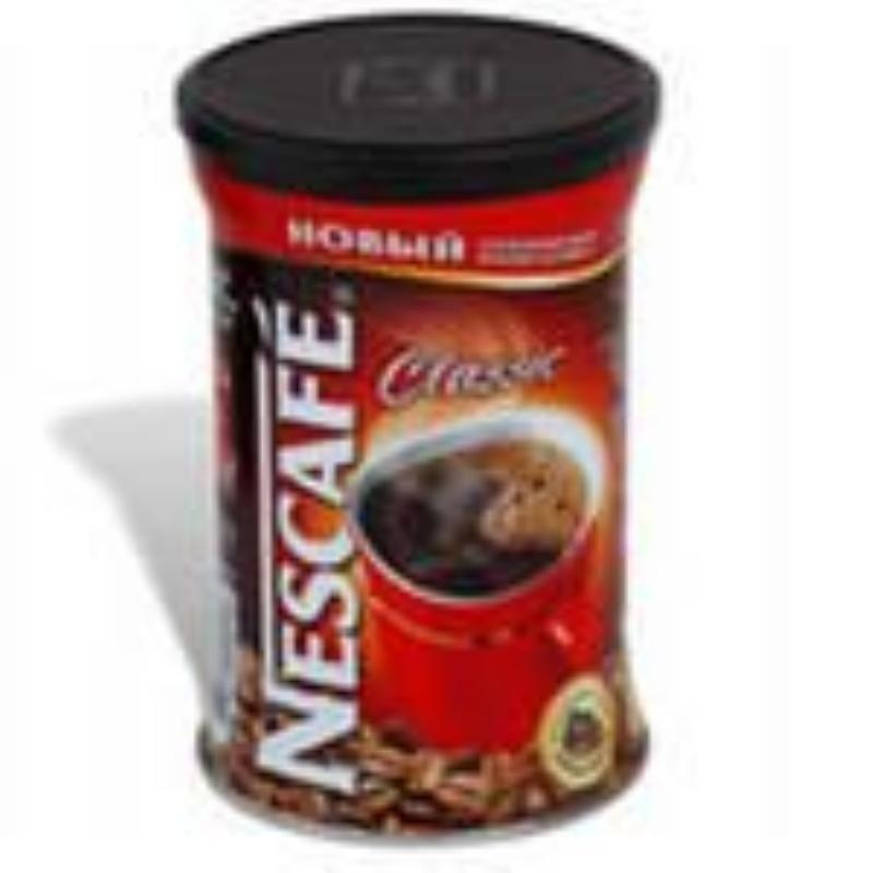 Кофе Nescafe Classic растворимый 250г жестяная банка