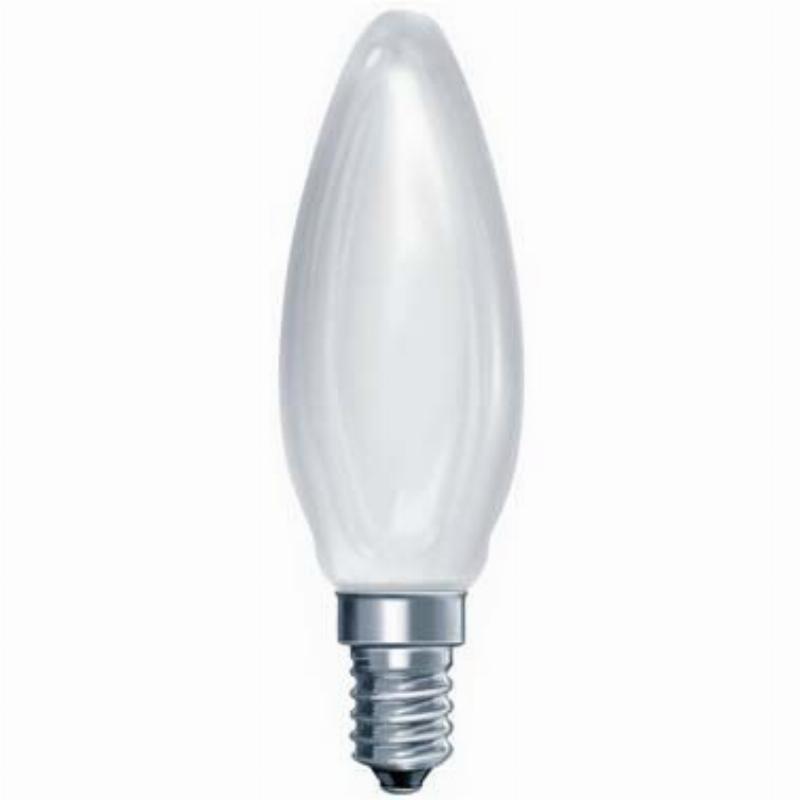 Лампа накаливания 40Вт Е14 cвеча матовая