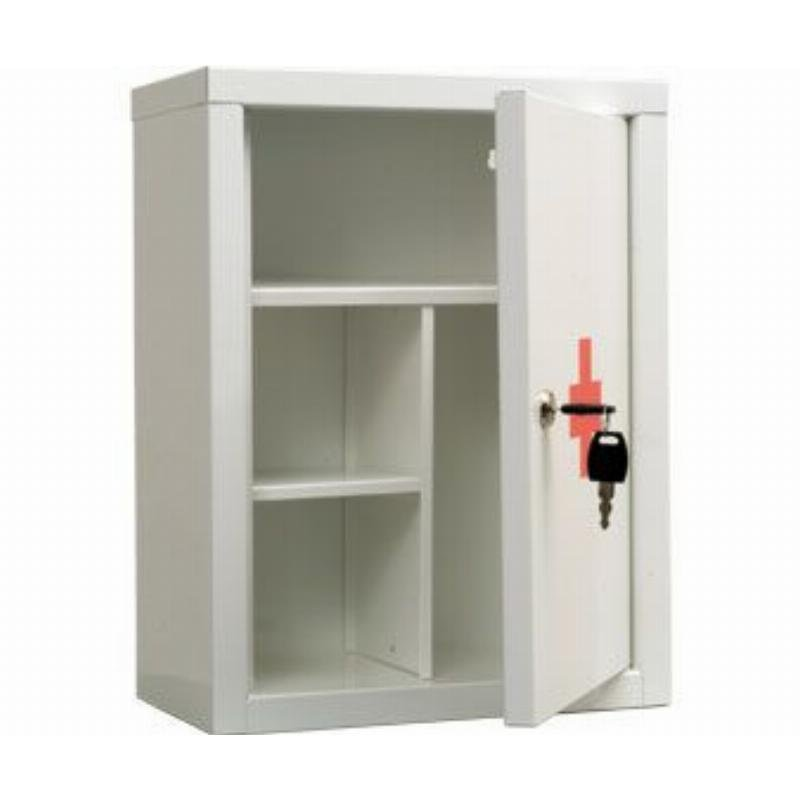 Шкафчик-аптечка Практик AMD-39 390x300x160мм с замком