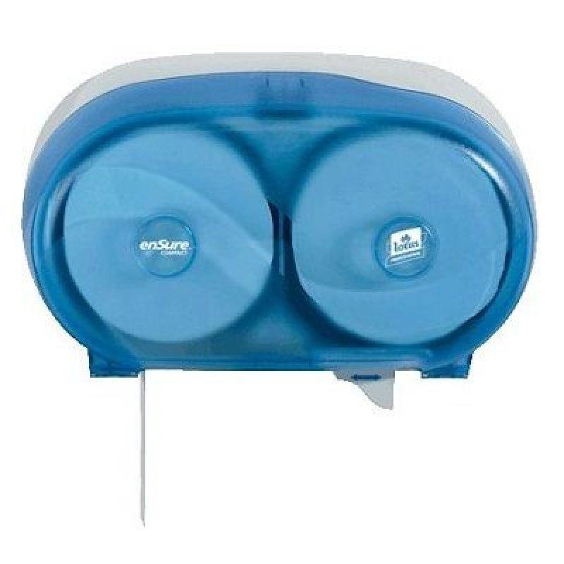 Держатель для туалетной бумаги Lotus Compact на 2 рулона синий