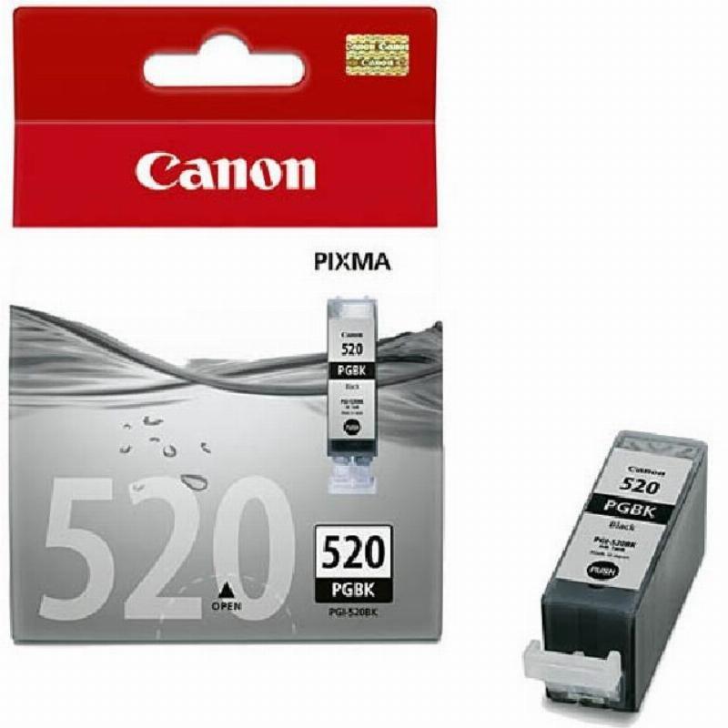 Картридж для Canon Pixma iP3600/4600/MP540/620 PGI-520Bk 344стр черный ориг