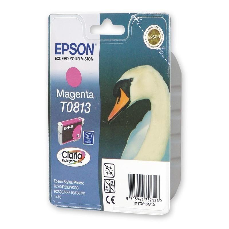 Картридж для Epson Stylus R270/R290/RX590 T0813 720-745стр пурпурный ориг