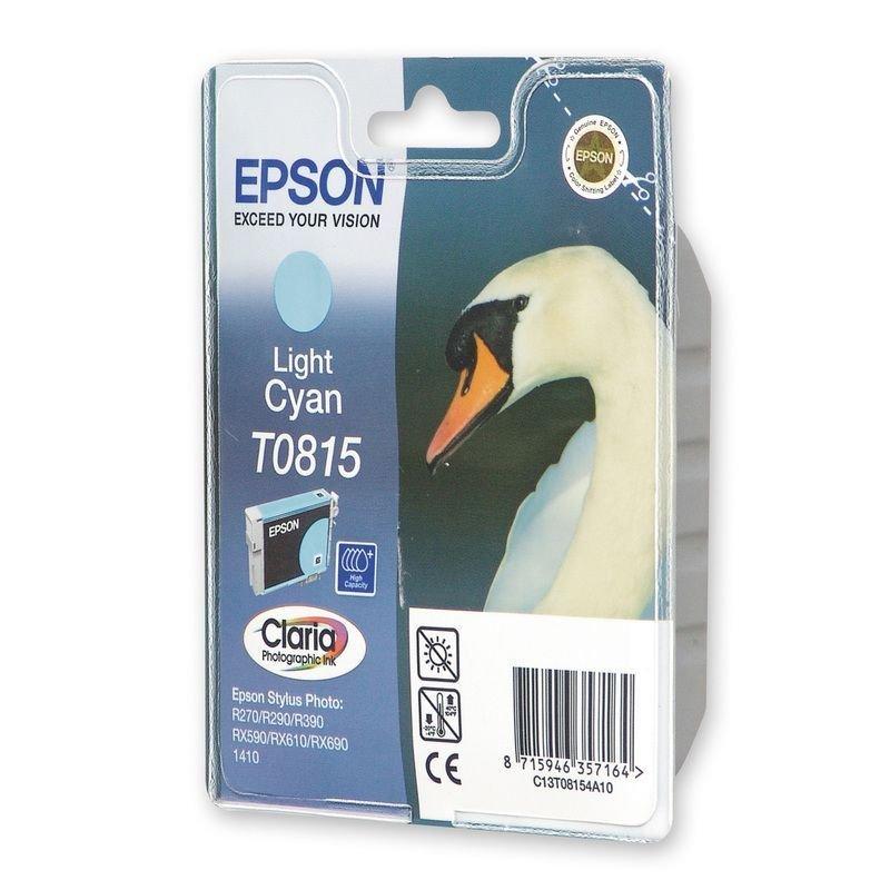 Картридж для Epson Stylus R270/R290/RX590 T0815 540-680стр светло-голубой ориг