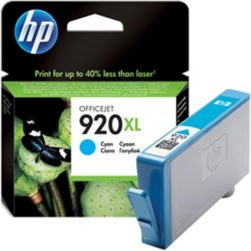 Картридж для HP Officejet 6000/6500/7000/7500 №920XL CD972AE 700стр голубой ориг