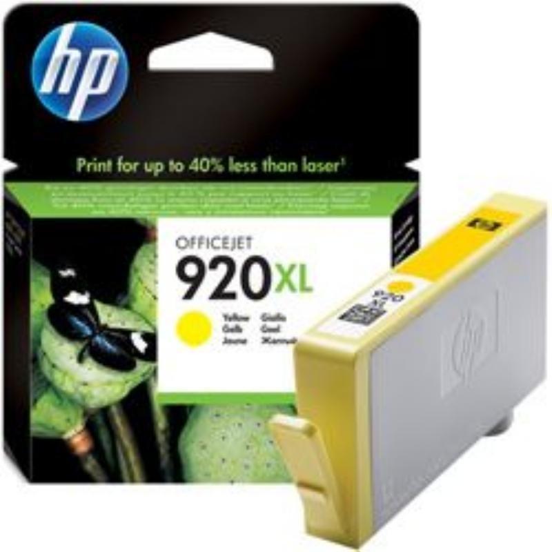 Картридж для HP OfficeJet 6000/6500/7000/7500 №920XL CD974AE 700стр желтый ориг