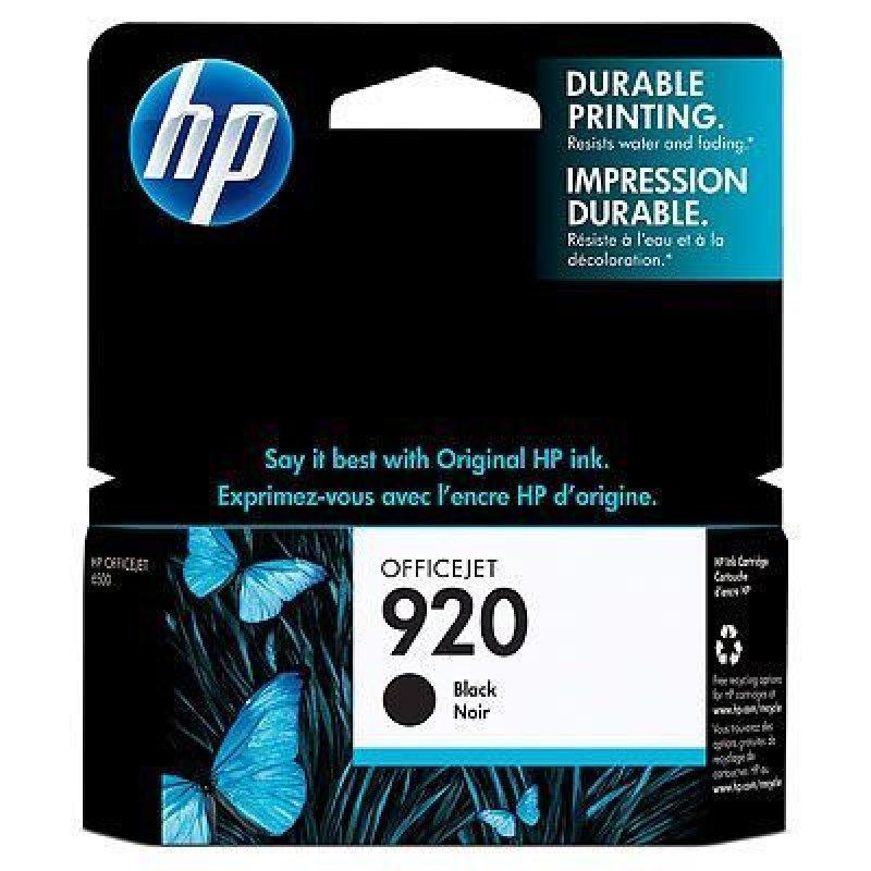 Картридж для HP OfficeJet 6000/6500/7000/7500 №920 CD971AE 420стр черный ориг