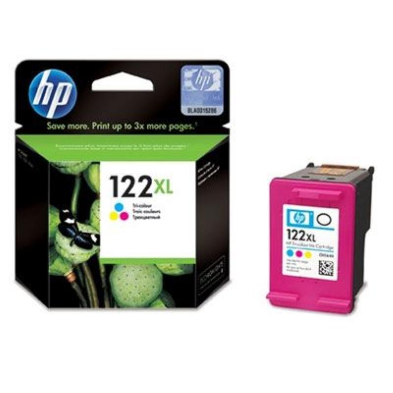 Картридж для HP DJ 1000/1050/2000/2050/3000/3050 №122XL CH564HE 330стр цветной ориг