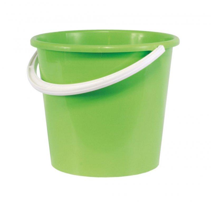 Ведро 12л пластик без крышки Крепыш
