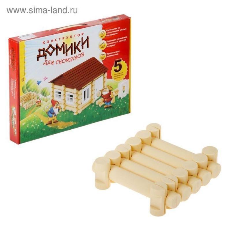 Конструктор 105 деталей Гном Дом