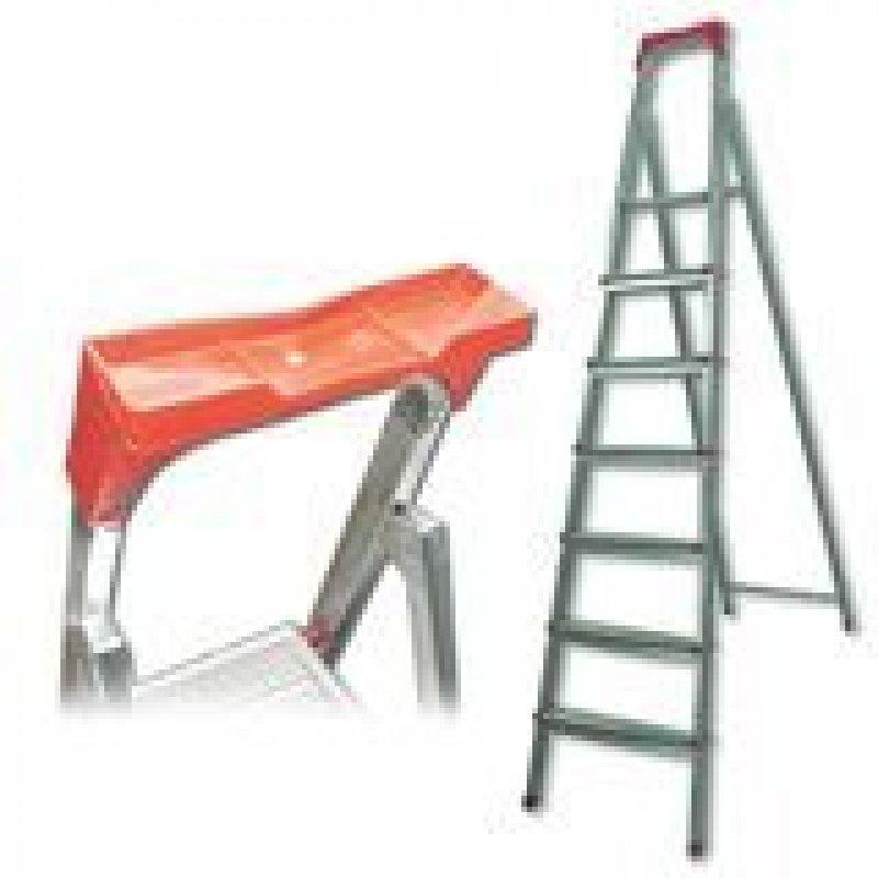 Лестница-стремянка Ufuk 155см 7 ступ стальная вес 10кг