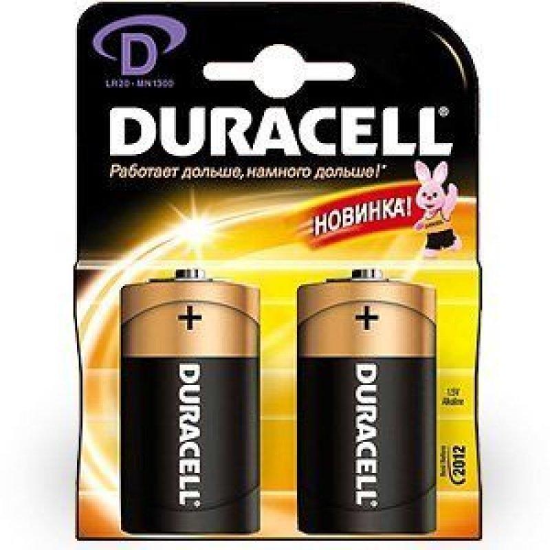 Батарейка Duracell LR20 D (цена за 1шт)