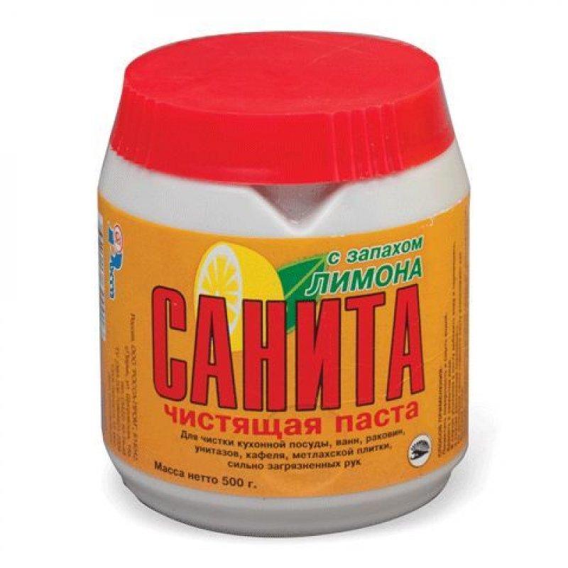 Чистящее средство Санрос (Санита) 500гр паста