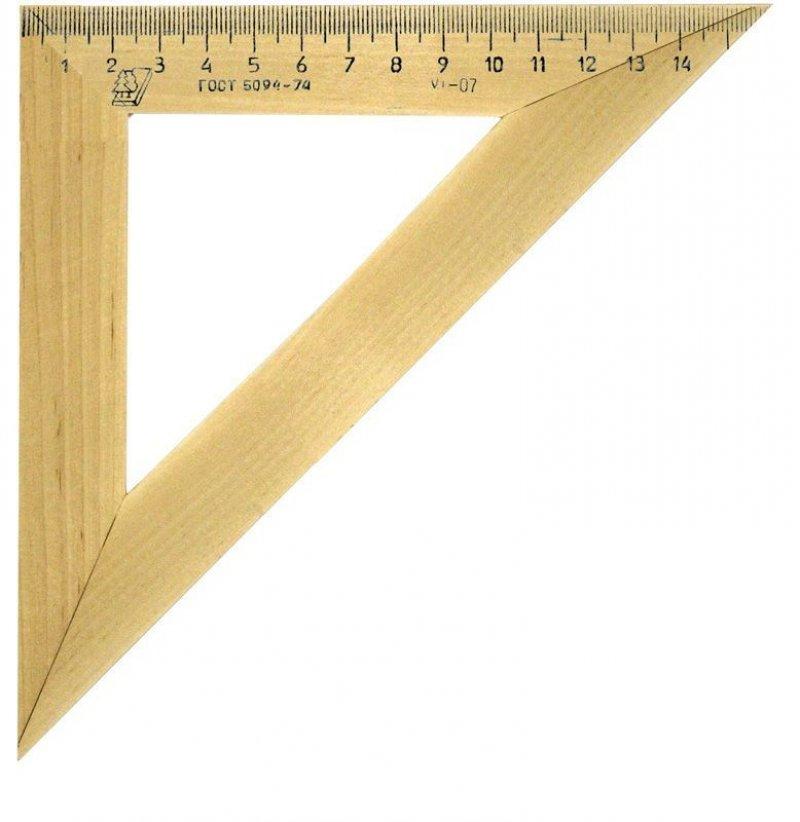 Треугольник 16см 45град Можга деревянный