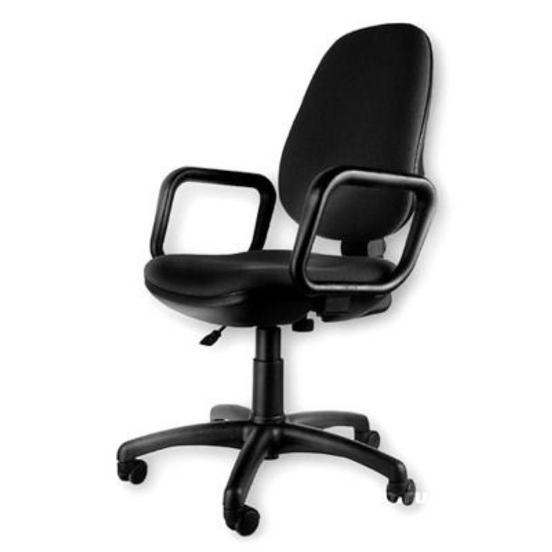 Кресло для оператора Nowy Styl Comfort GTP с подлокотниками ткань черное