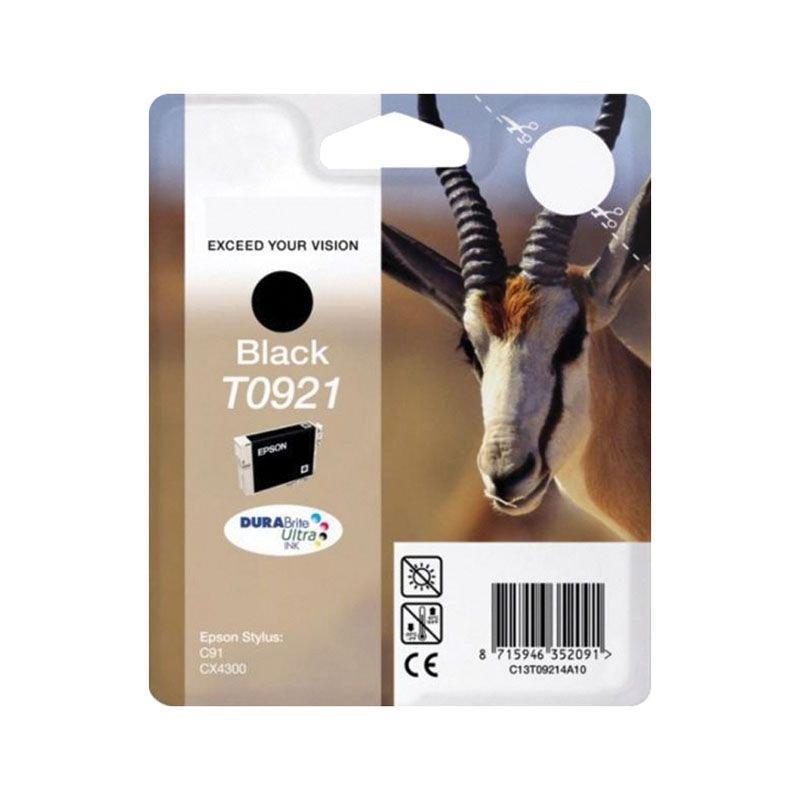 Картридж для Epson Stylus С91/СХ4300/Т26 T0921 240стр черный ориг