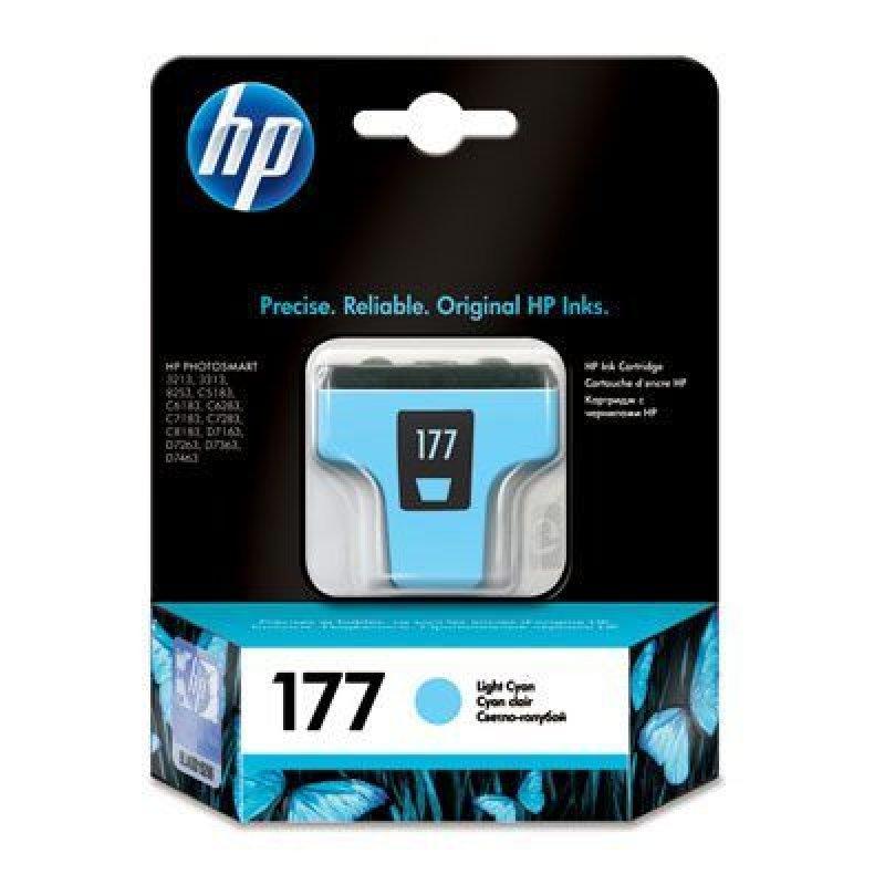 Картридж для HP Photosmart 3213/3313/8253/C5183/C6683/C6283 №177 C8774HE 220стр светло-голубой ориг
