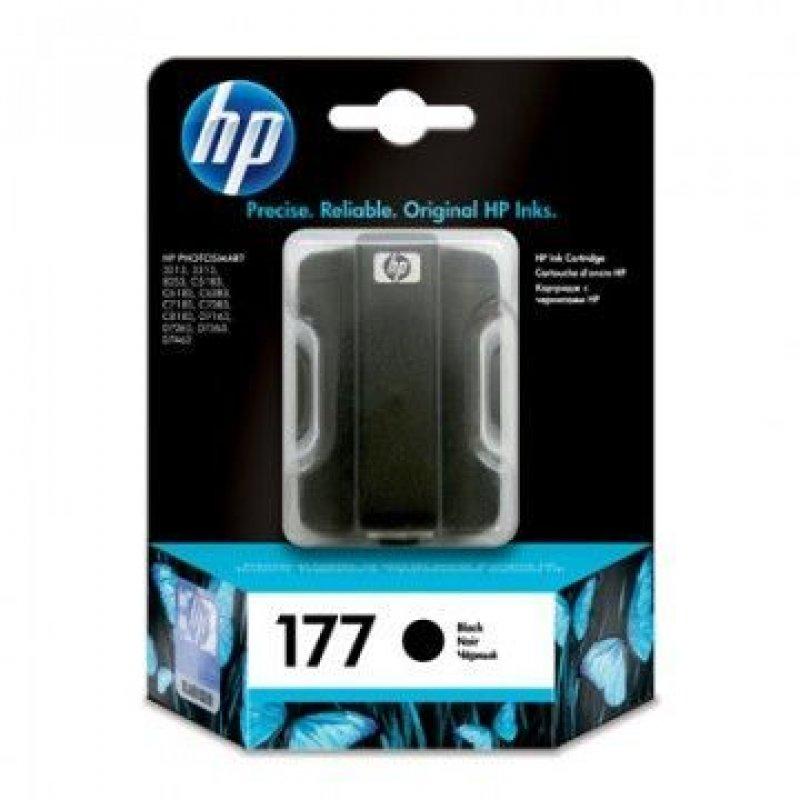 Картридж для HP Photosmart 3213/3313/8253/C5183/C6683/C6283 №177 C8721HE 410стр черный ориг