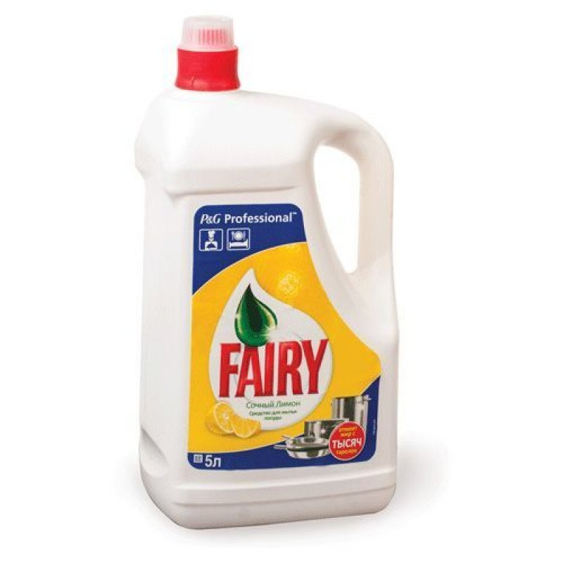 Средство для мытья посуды 5л Фейри