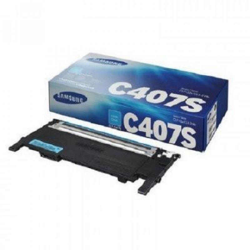 Картридж для Samsung CLP-320/325/N CLX-3185/N/FN CLT-C407S 1000стр голубой ориг