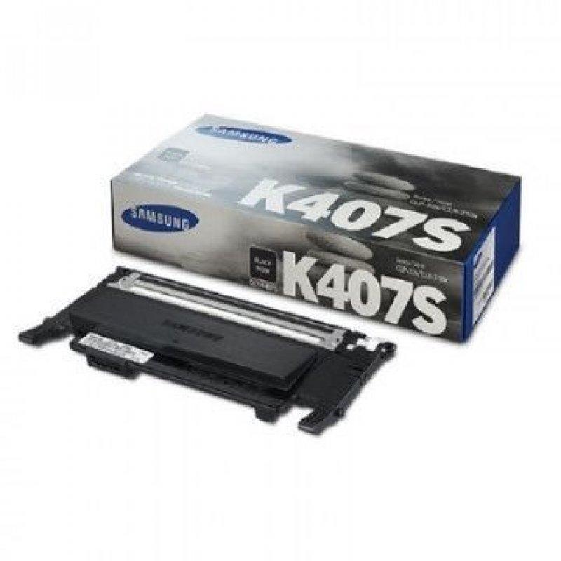 Картридж для Samsung CLP-320/325/CLX 3180/3185 CLT-C407S 1500стр черный ориг
