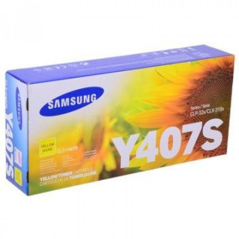 Картридж для Samsung CLP-320/325/N CLX-3185/N/FN CLT-Y407S 1000стр желтый ориг