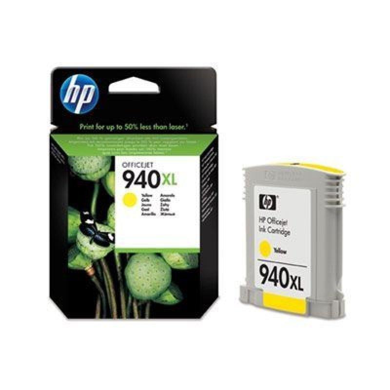 Картридж для HP OfficeJet Pro 8000/8500 №940XL C4909AE 1400стр желтый ориг