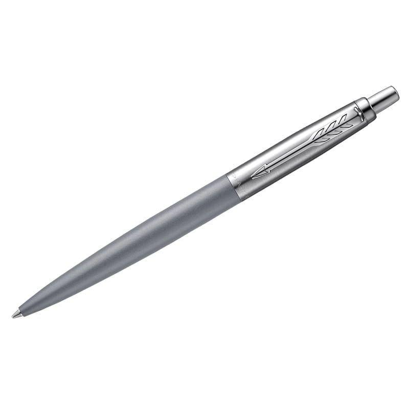 Ручка шариковая подарочная Parker Jotter XL Grey CT 1мм корпус нерж сталь хром детали синяя