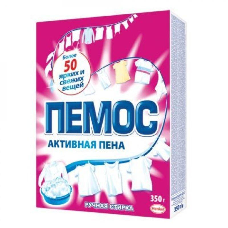 Стиральный порошок 350г ручная Активная пена Пемос