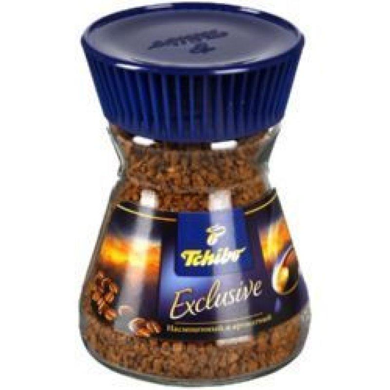 Кофе Tchibo Exclusive растворимый 47,5г стеклянная банка