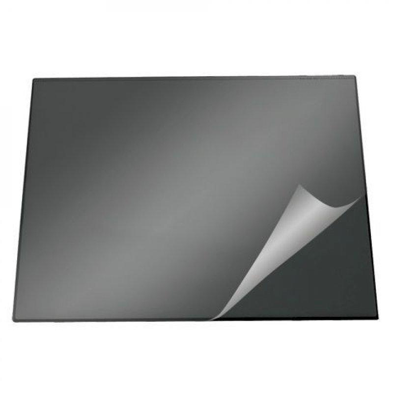 Коврик на стол Durable 52х65см черный с прозрачным верхним листом