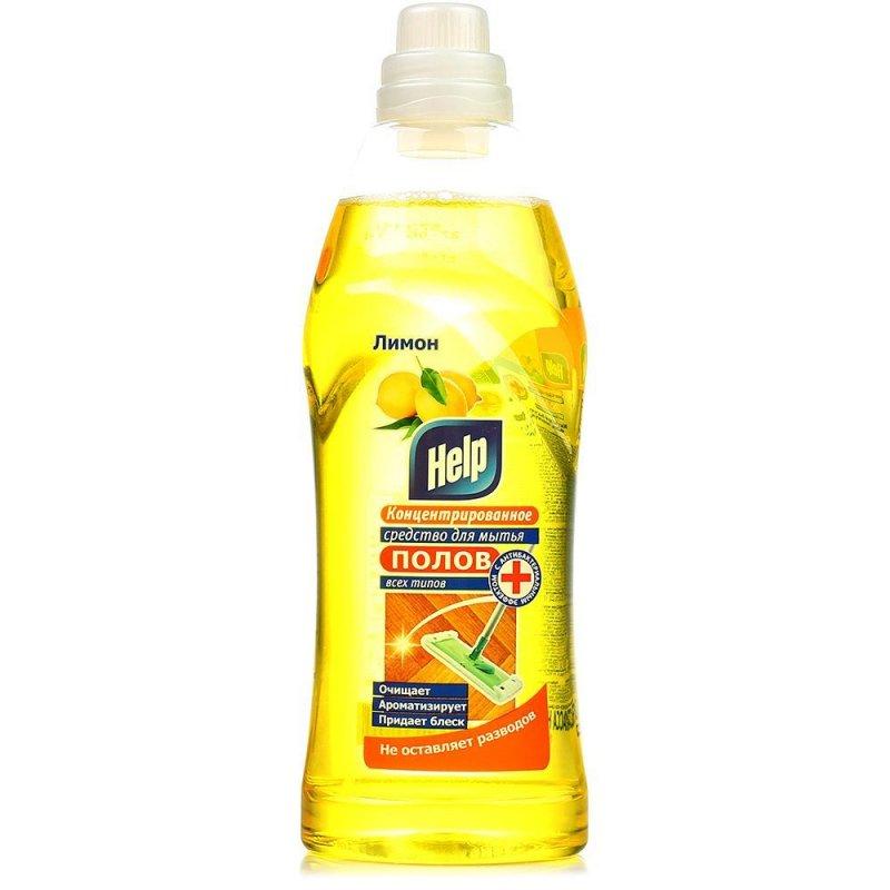 Средство для мытья пола 1л Help