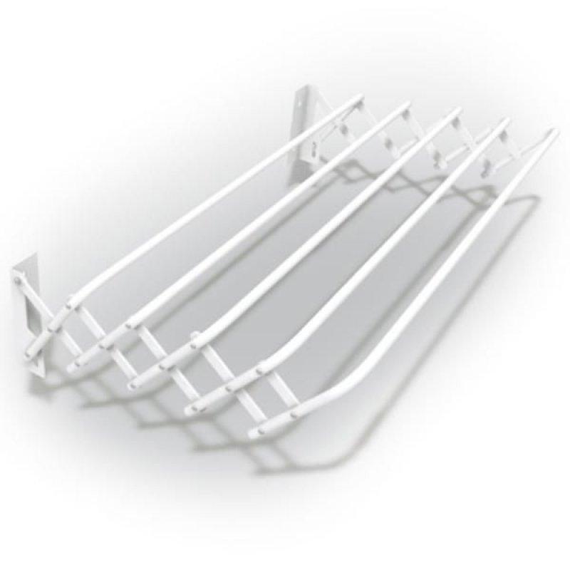 Сушилка для белья настенная Brio 1м раздвижная 5 прутьев