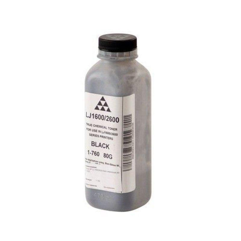 Тонер HP LJ 1600/2600 black 80г химический