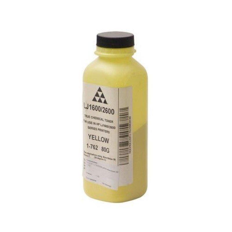 Тонер HP LJ 1600/2600 yellow 80г химический