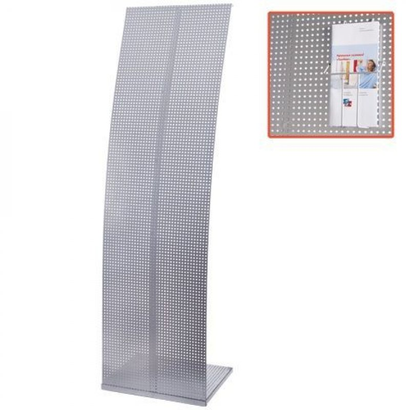 Стойка для рекламных материалов напольная Парус 2 1600х455х360 мм