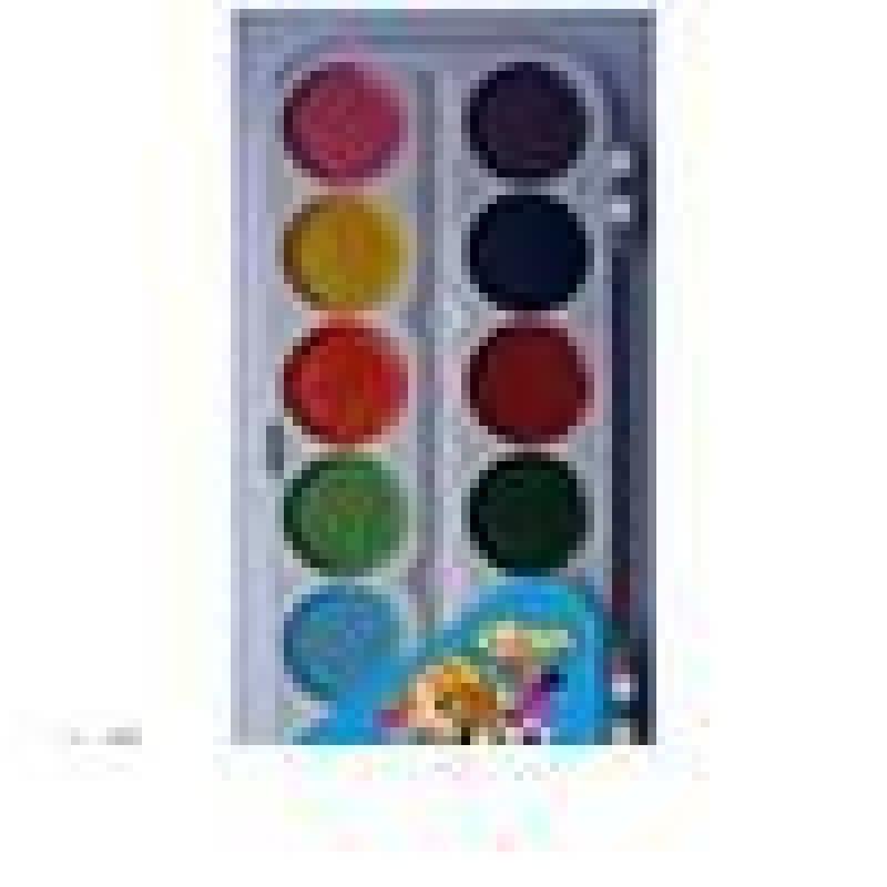 Краски акварельные 12цв Перламутрики б/кисти