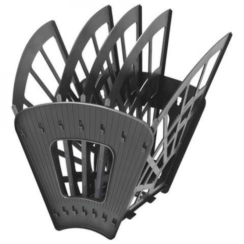 Поддон 5-секционный веер Стамм Эконом черный