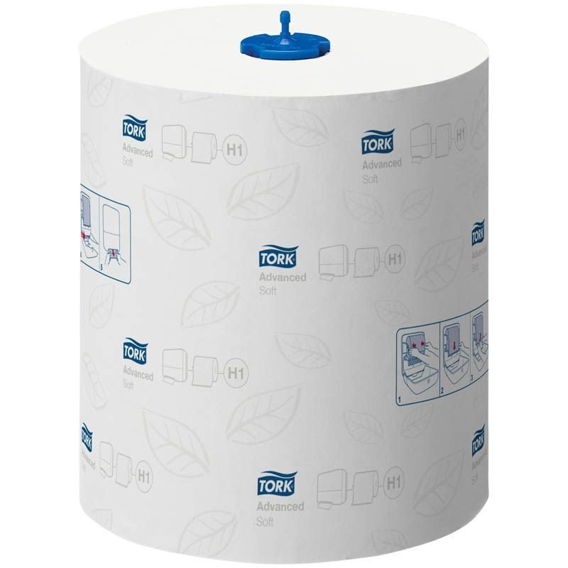 Полотенце бумажное Tork Advanced 2-сл в рулоне 150м белое