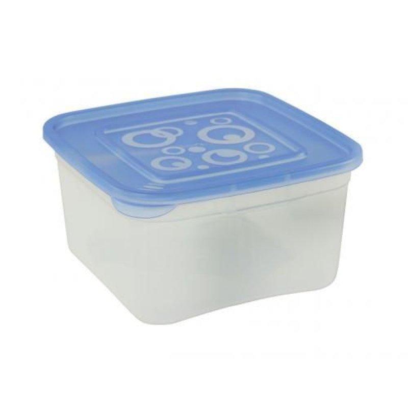 Контейнер для СВЧ 1л Квадрат с крышкой пластик