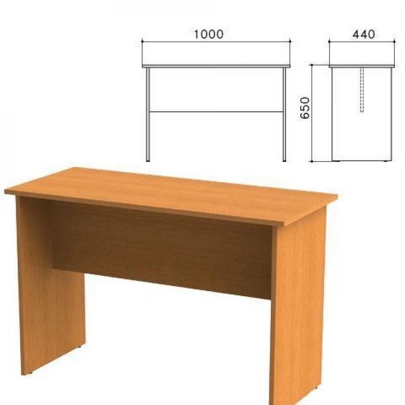 Стол приставной Фея 1000х440х650мм орех