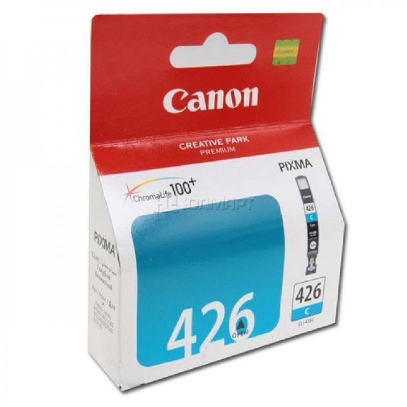 Картридж для Canon Pixma iP4840/MG5140 CLI-426C 446стр голубой ориг