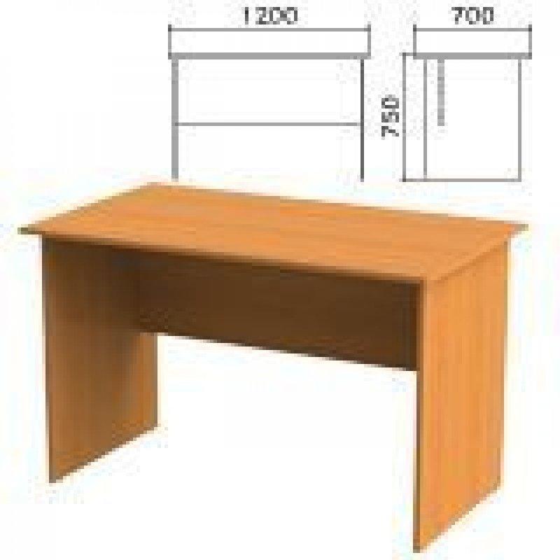 Стол письменный Фея 1200х700х750 мм орех милан