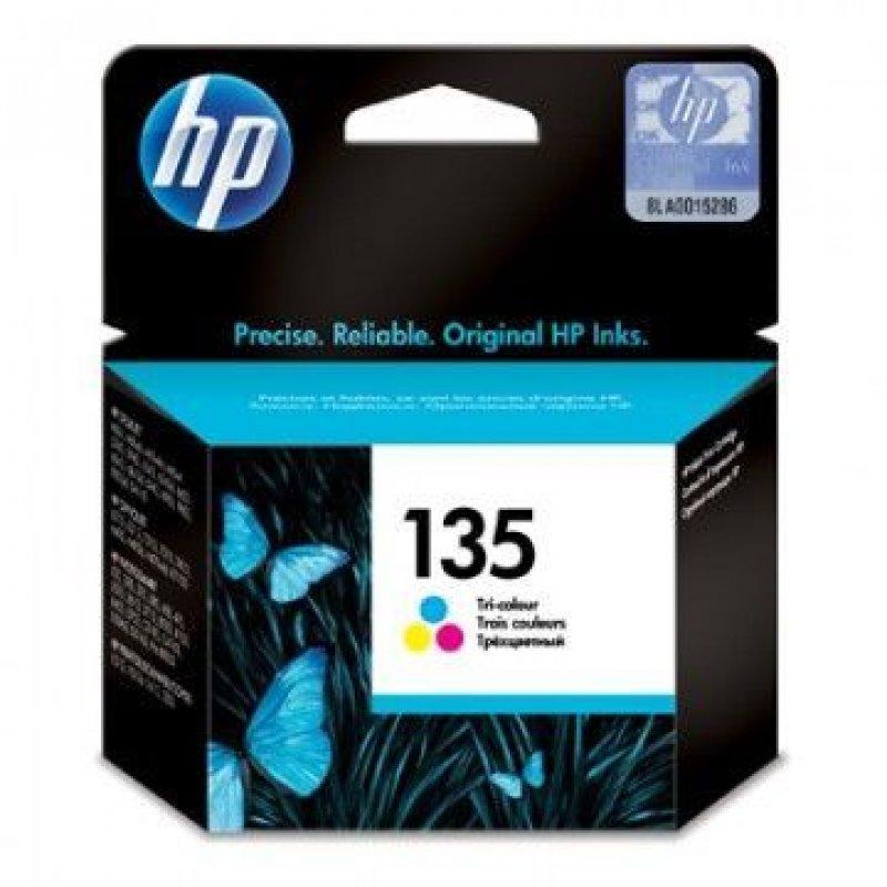 Картридж для HP DJ 5743/5943/6543/6623/6843/6940/D4163 №135 C8766HE 260стр цветной ориг