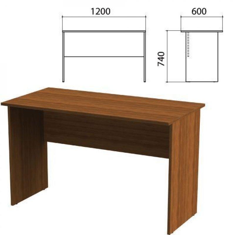 Стол письменный Эко 1200х600х740 мм орех