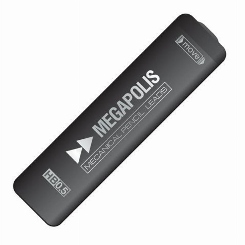 Грифель для мех карандаша 0,5мм Erich Krause Megapolis HB 20шт/уп