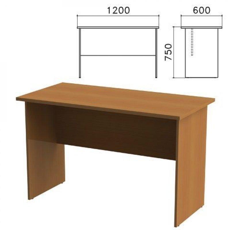 Стол письменный Канц 1200х600х750мм орех