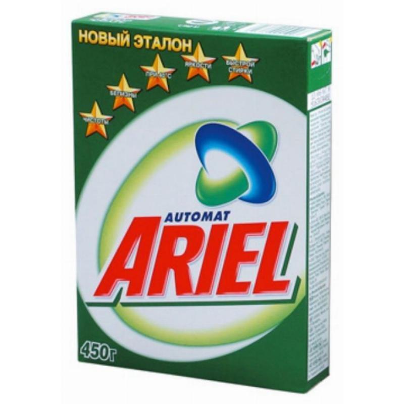 Стиральный порошок 450г автомат ассорти Ariel