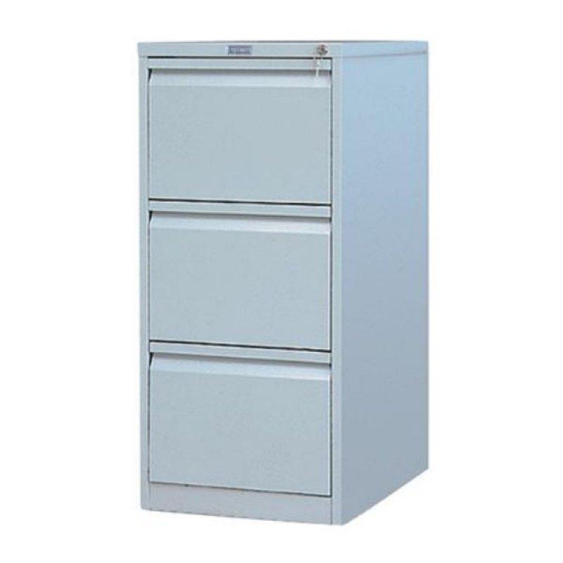 Шкаф металлический картотечный 3 ящика Практик AFC-03 1020х466х631мм 51 кг