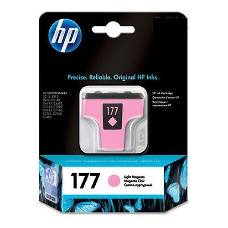 Картридж для HP Photosmart 3213/3313/8253/C5183/C6683/C6283 №177 C8775HE 230стр светло-пурпурн. ориг
